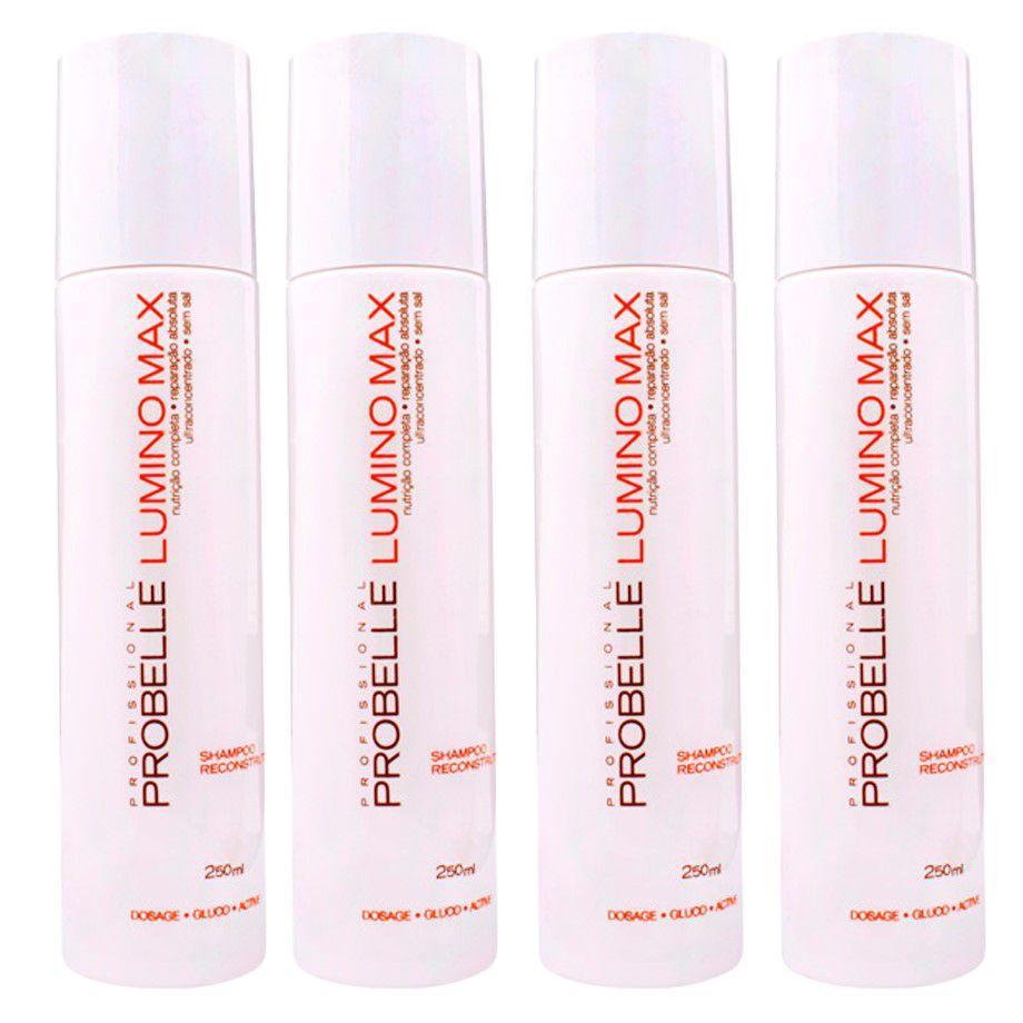a6b974614e 04un Shampoo 250ml Lumino Max - Probelle - Shampoo - Magazine Luiza