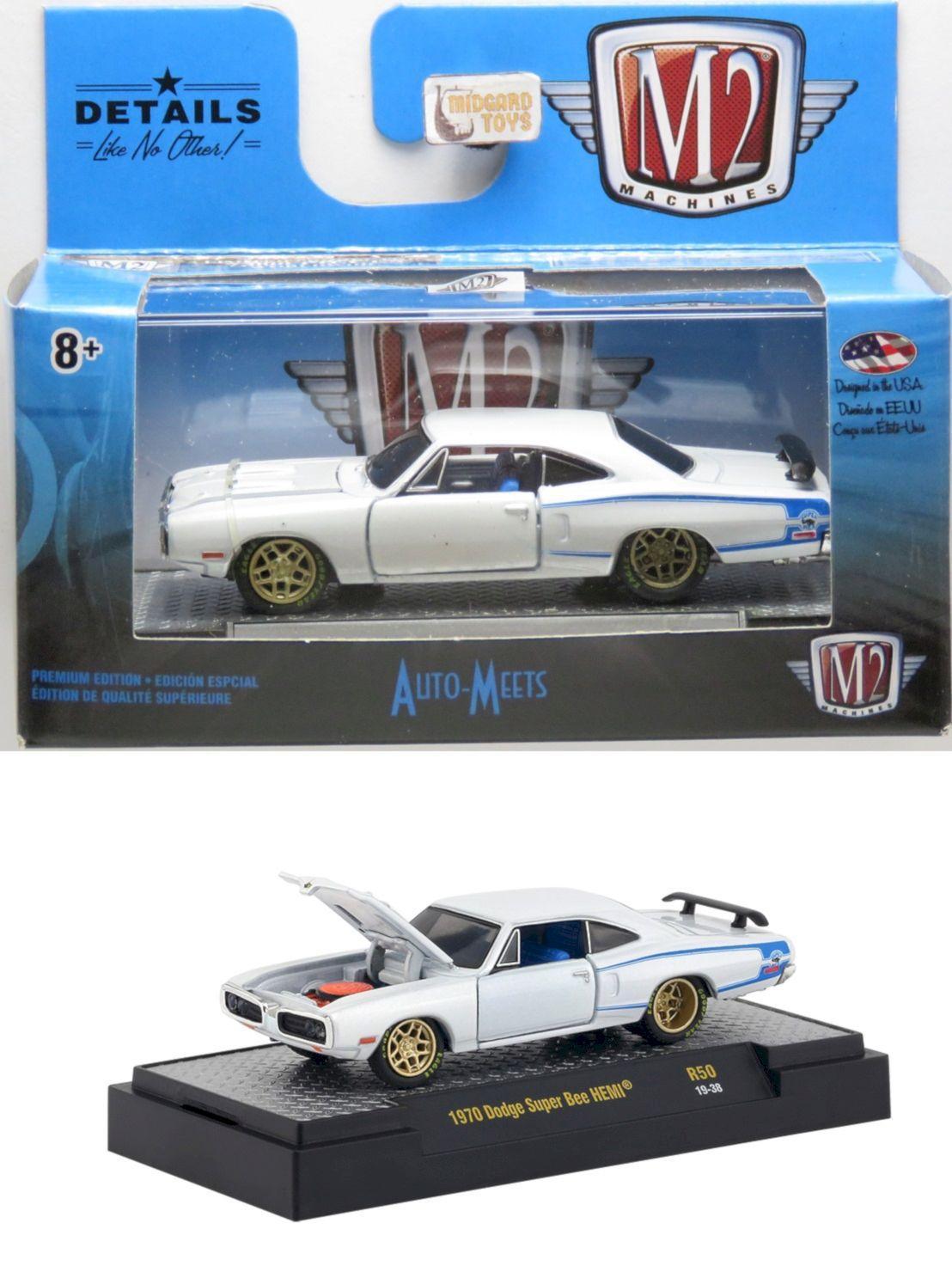 1970 Dodge Super Bee Hemi Auto Meets Detroit Muscle Release 50 1 64 M2 Machines Miniaturas De Carros Magazine Luiza