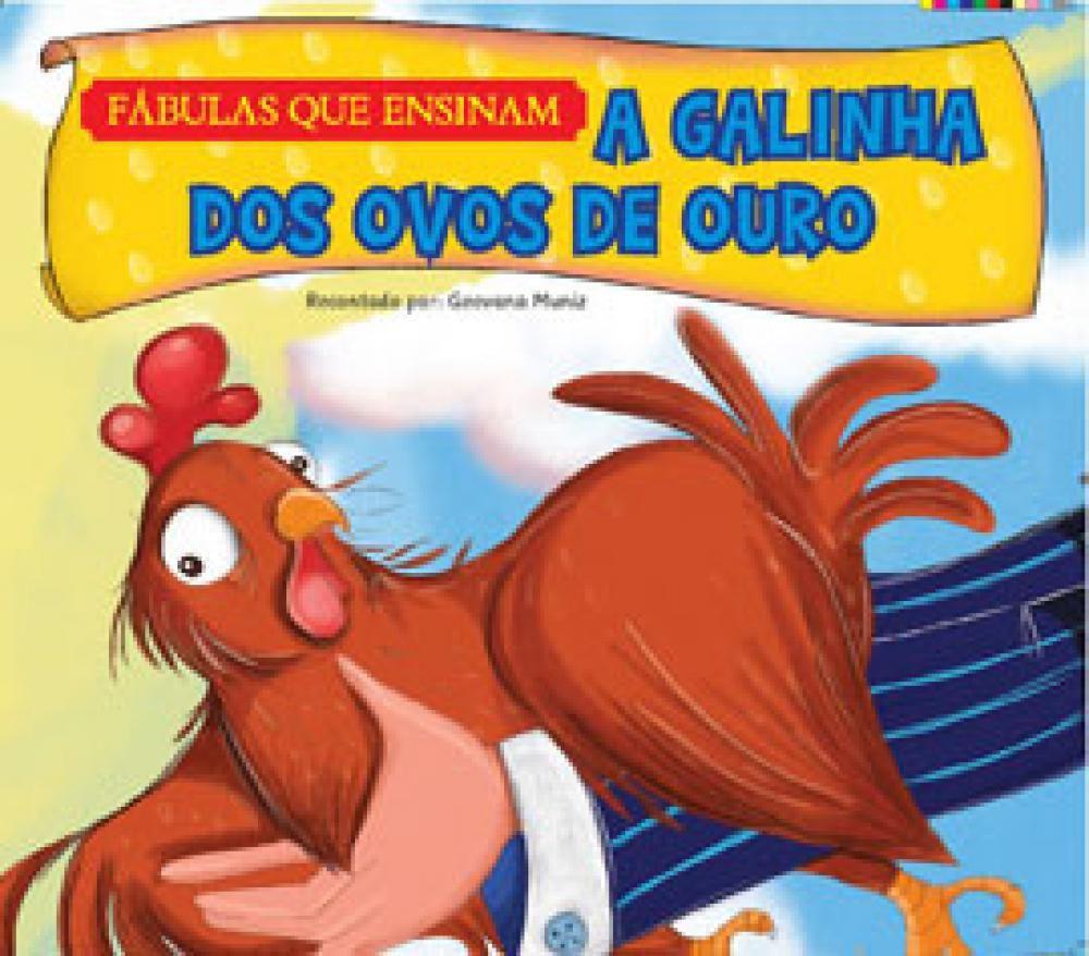 A Galinha Dos Ovo De Ouro Para Colorir a galinha dos ovos de ouro - pae