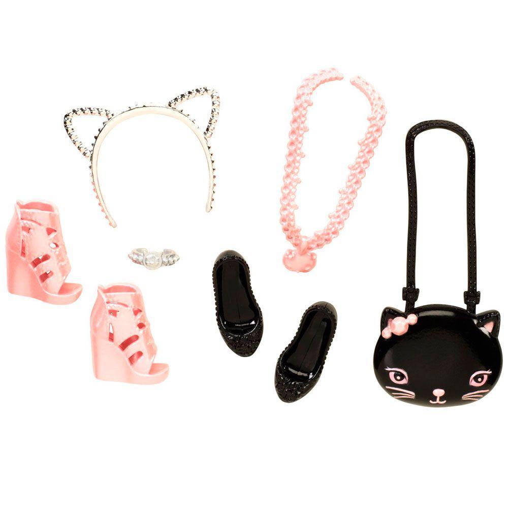 e2f1a7a42 Acessórios Barbie - Bolsas e Sapatos - Serie 1 - Mattel Produto não  disponível