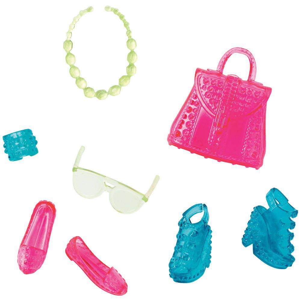 15cf40186 Acessórios Barbie - Bolsas e Sapatos - Série 12 - Mattel Produto não  disponível