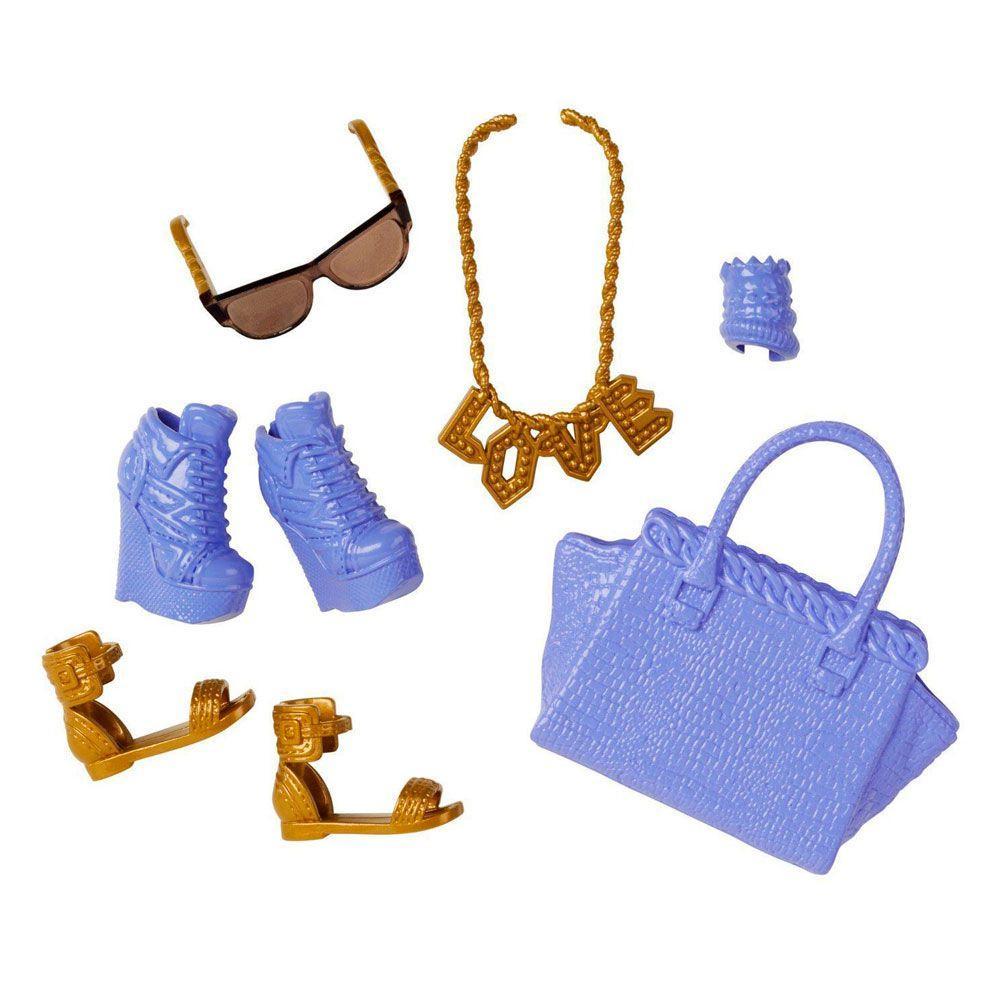 1cbde91c4 Acessórios Barbie - Bolsas e Sapatos - Serie - 4 - Mattel - Boneca ...