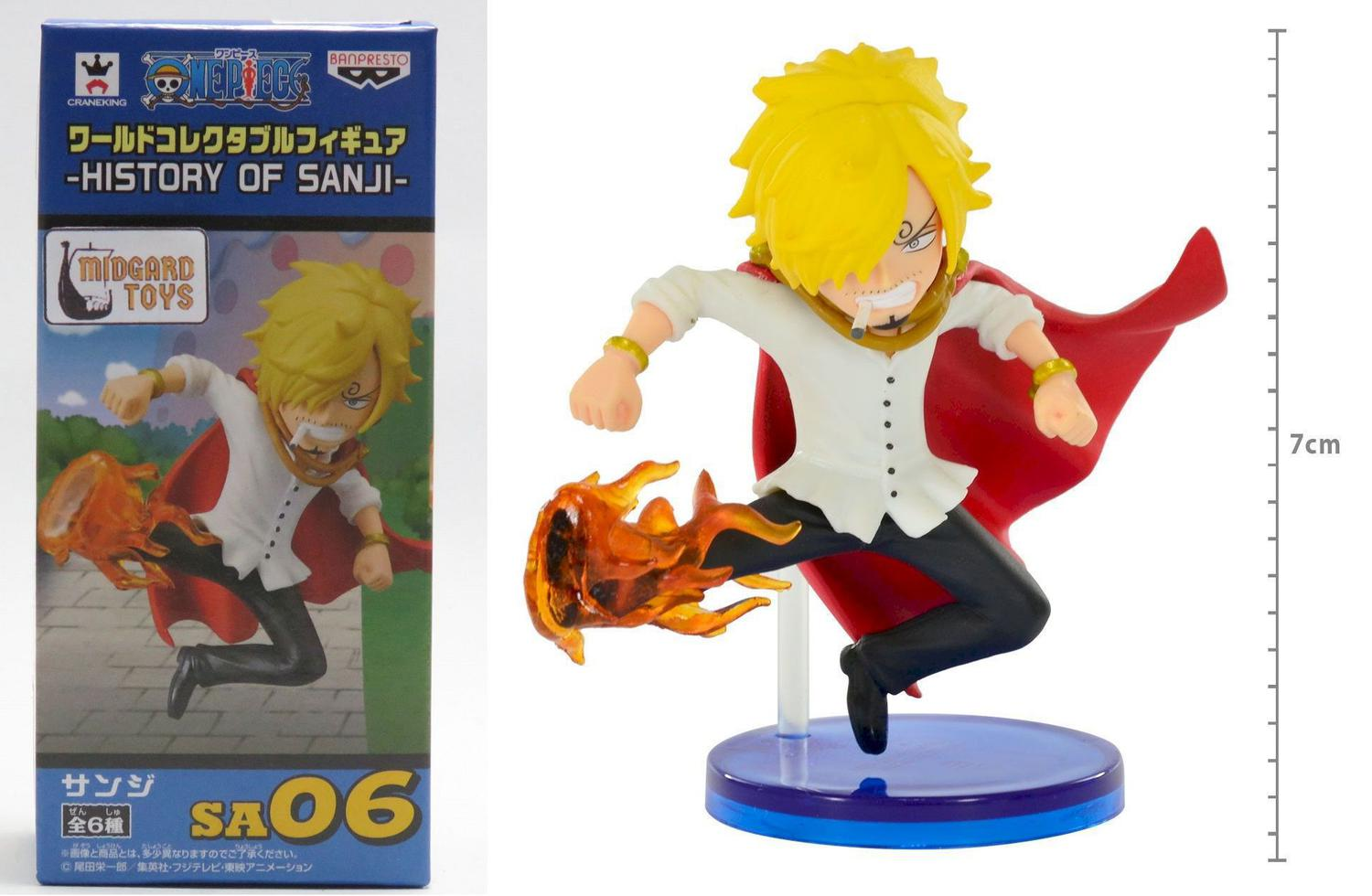 Action Figure Sanji History Of Sanji One Piece Wcf Banpresto Action Figures Magazine Luiza