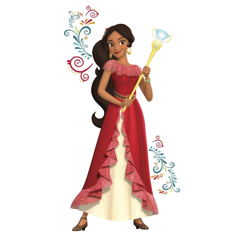 Adesivo Da Princesa Elena De Avalor Gigante Rmk3295gm Disney