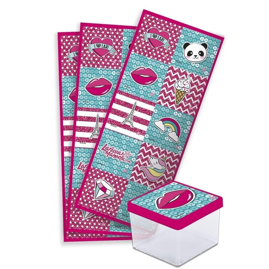 Adesivo Quadrado Larissa Manoela 03 Cartelas Festcolor - Festabox R  12,90  à vista. Adicionar à sacola 765239509a