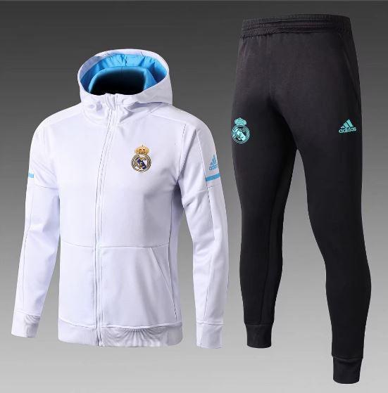 Agasalho do Real Madrid com Gorro br 2018 2019 - Torcedor Adidas Masculina R   400 eb910b32fbbec