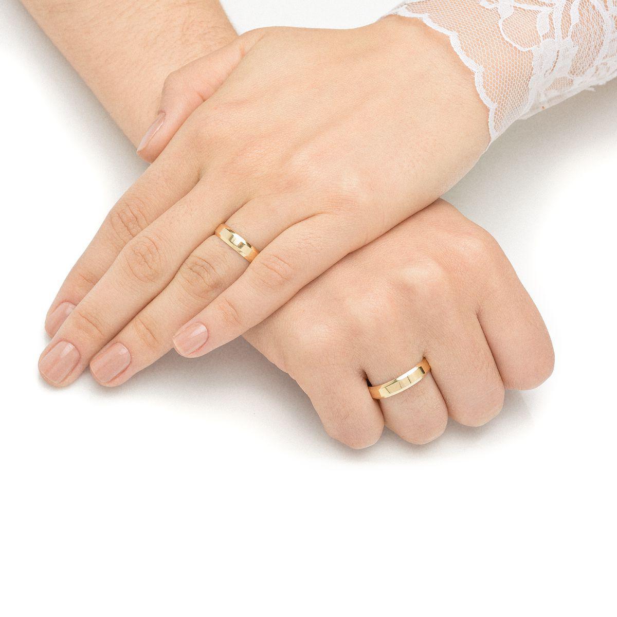 Aliança de Casamento em Ouro 18k 4,5mm Anatômica Masculina ear45sa -  Joiasgold R  974,54 à vista. Adicionar à sacola a6246f4f2a