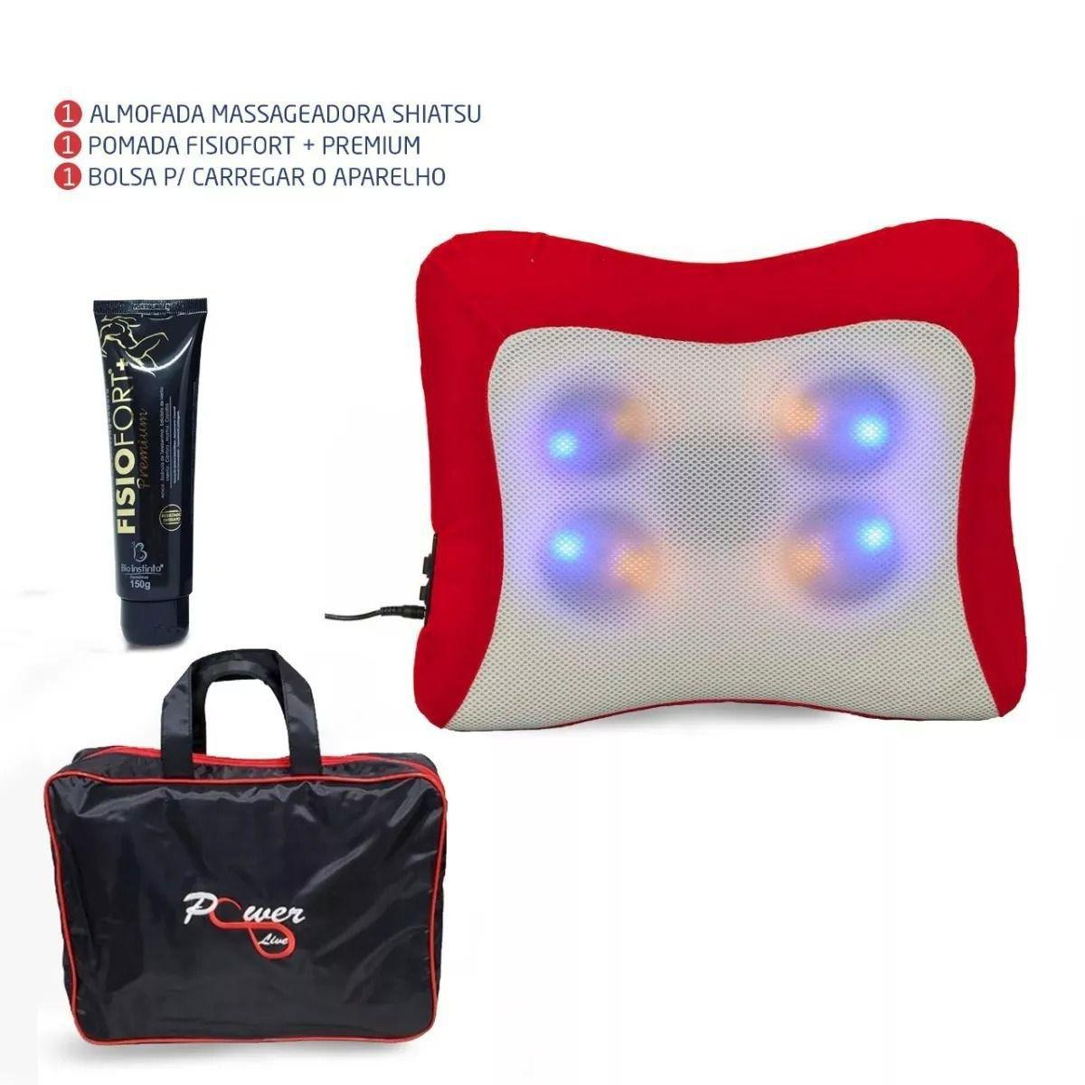 839f85372ab804 Almofada Massageadora Shiatsu - Power live