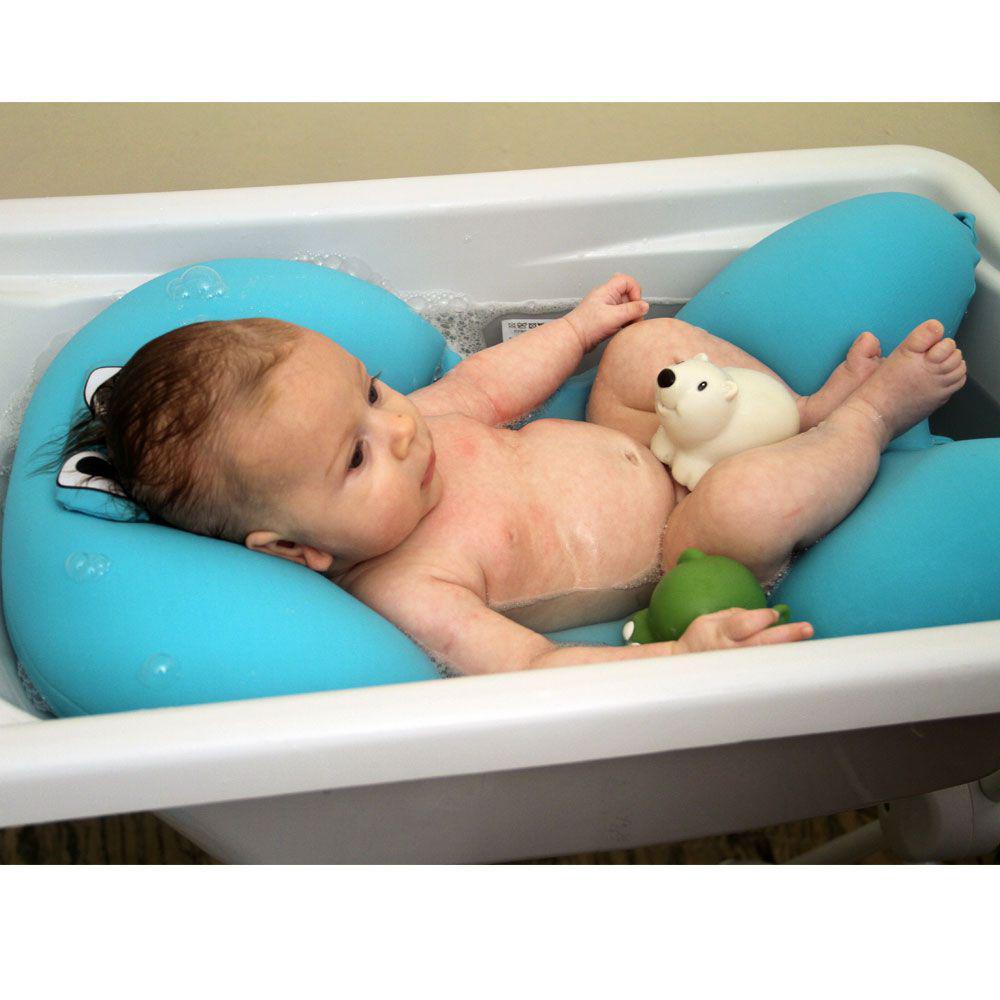 bb1f2e6ba Almofada para Banho - Azul - Baby Pil - Almofada para Banho ...