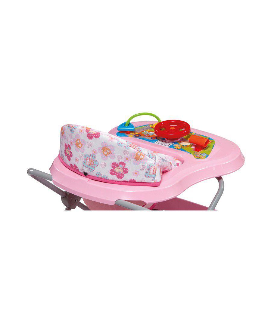 fe343bca3e Andador Toy Musical Rosa - Tutti Baby Toy - Andador Infantil ...