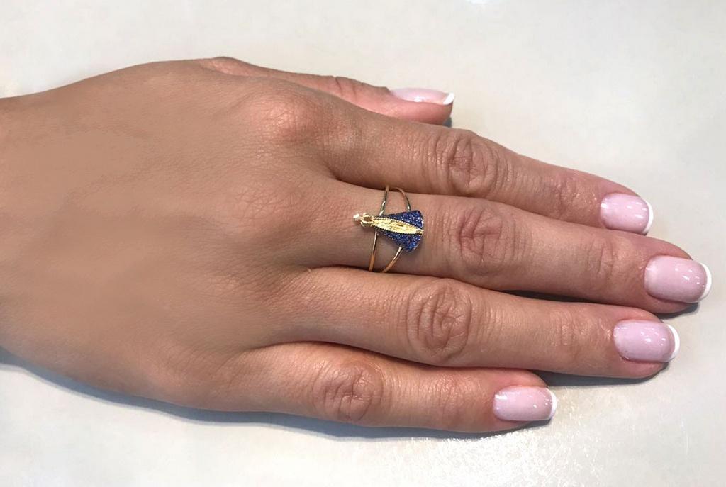 1e8bd450e6ce6 Anel nossa senhora aparecida ouro 18k zircônias - Retran joias R  744