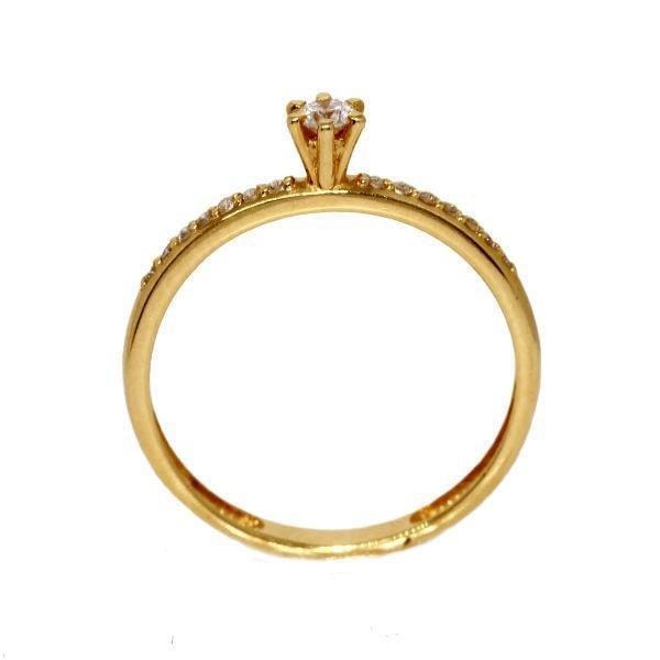 ad41e54da7512 Anel Solitário Ouro 18k Diamantes - cod.8885 - Retran joias R  2.880,90 à  vista. Adicionar à sacola