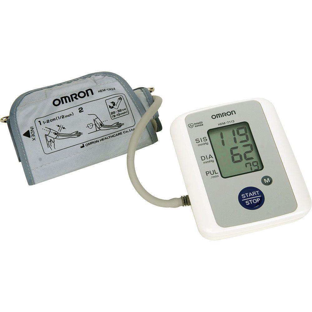 46e3a511a Aparelho de Pressão Digital Automático de Braço com Detecção de Arritmia  HEM-7113 - Omron