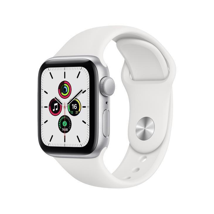 Apple Watch Se Gps, 44 Mm, Aluminio Prata