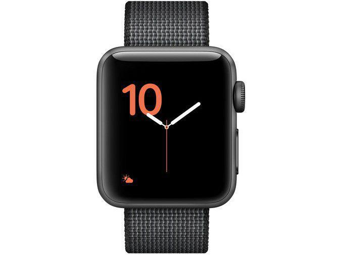 cae3661eb0d Apple Watch Series 2 38mm Alumínio 8GB Esportiva - Preta GPS Integrado  Resistente a Água R