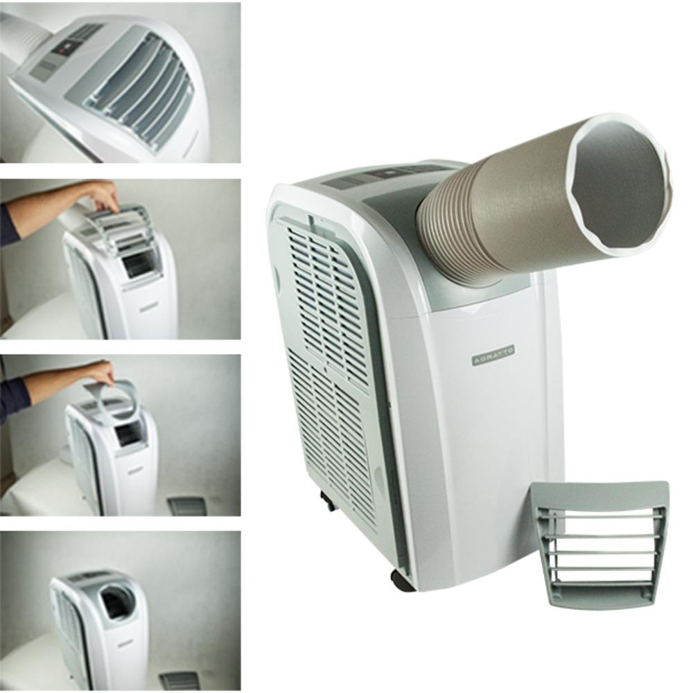 """5d7b395be Ar condicionado portátil """"Quente e Frio"""" 9.000 btus - ACP09QF - Agratto  (110V) Produto não disponível"""