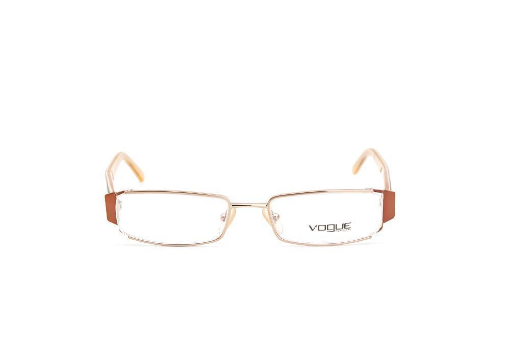 42716a993e379 Armação De Grau Vogue Haste Acetato Laranja - Óculos de grau ...