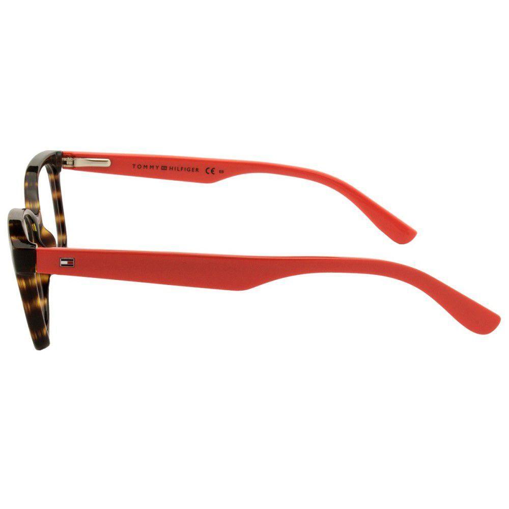 2fc2c8efa Armação De Óculos Tommy Hilfiger Th 1492 9n4 5316 R$ 426,87 à vista.  Adicionar à sacola