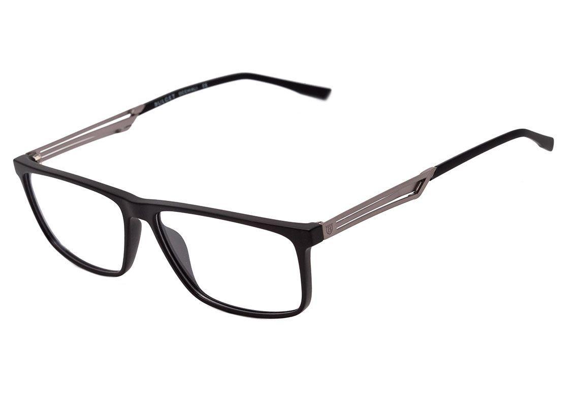 9ac6d485c5812 Armação Óculos de Grau Bulget Masculino BG4113 A01 R  181,90 à vista.  Adicionar à sacola