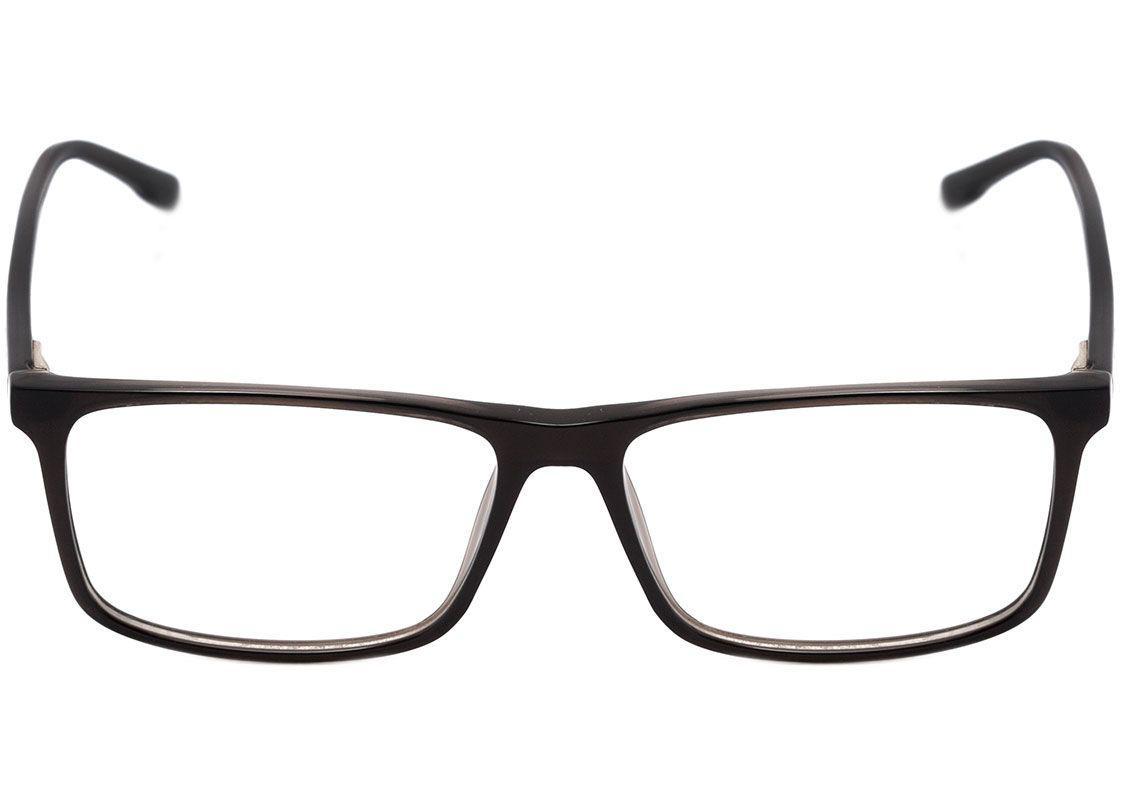 3ad70a6888a5e Armação Óculos de Grau Bulget Masculino BG6277I T01 - Óptica ...