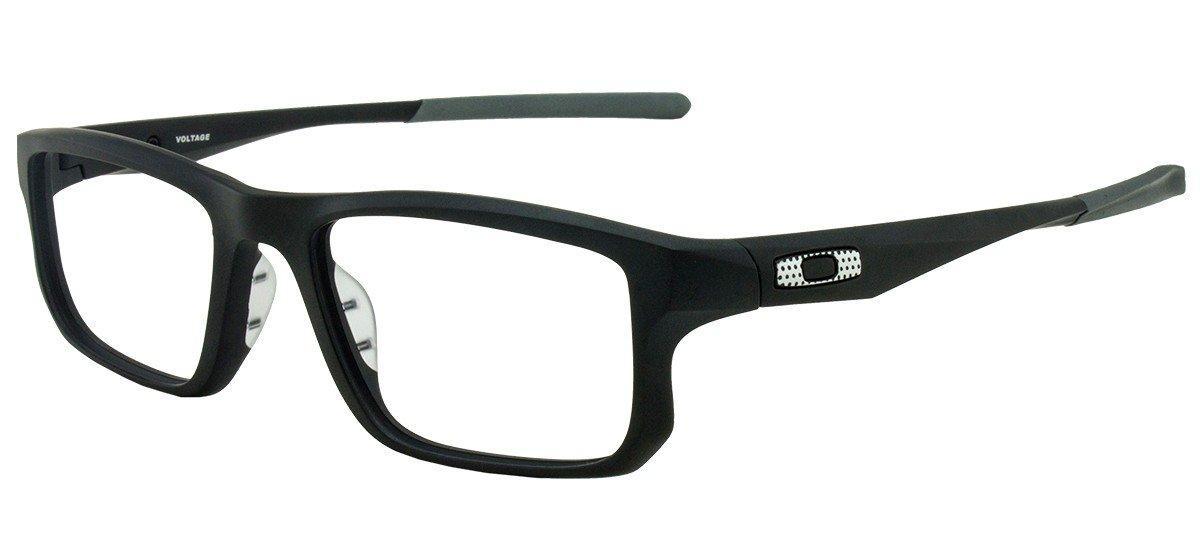 41d905896833e Armação Óculos de Grau Oakley Unissex Voltage OX8049-09 R  337,45 à vista.  Adicionar à sacola
