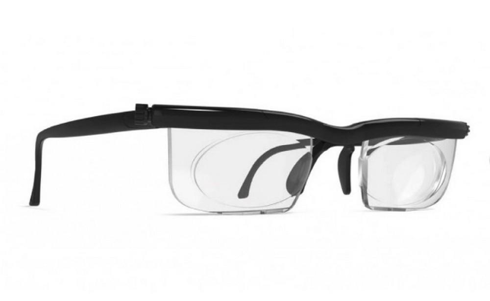 a78f05d6ab2cd Armação Óculos Grau Ajustável P Leitura Adlens Preto C Haste Produto não  disponível