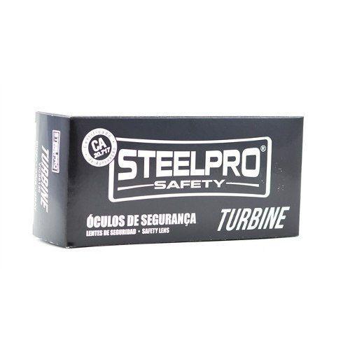 399b5f95267f8 Armação Óculos Segurança Para Lente De Grau Steelpro Vicsa TURBINE R  53