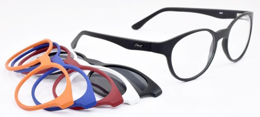 Armação para óculos de grau smart com clip-on 932 R  398,00 à vista.  Adicionar à sacola 5bfbac0e7b