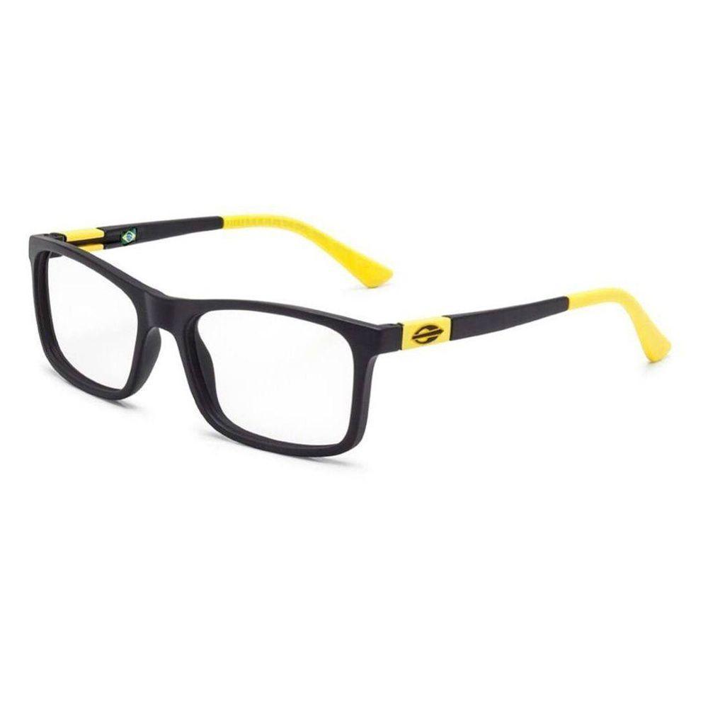 3944177858a25 Armação receituário mormaii slide nxt infantil preto fosco preto-amarelo R   249,00 à vista. Adicionar à sacola