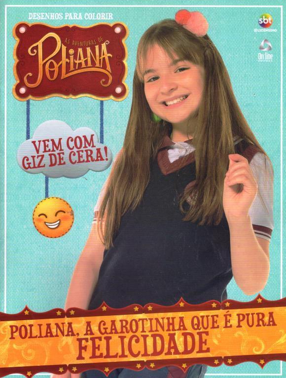 As Aventuras De Poliana Desenhos Para Colorir Revista Com Giz De