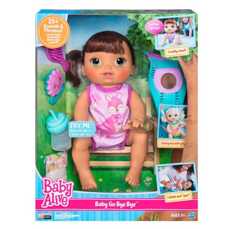 0bb5cfdcfa Baby Alive Hora do Passeio Morena Hasbro C2689 - Bonecas - Magazine ...