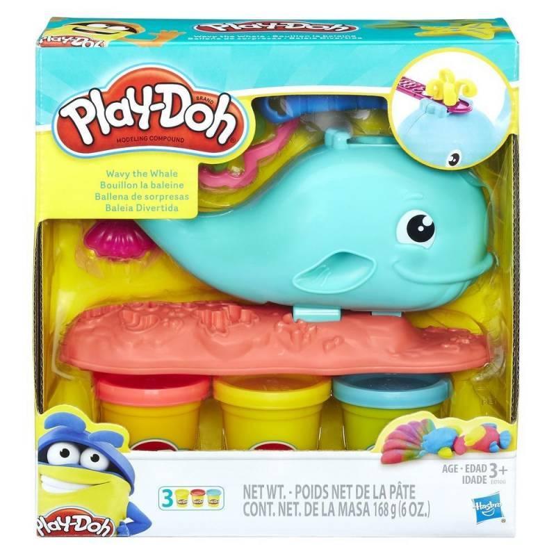 8d057bec99 Baleia Divertida Play-Doh - Hasbro E0100 - Massinha - Magazine Luiza