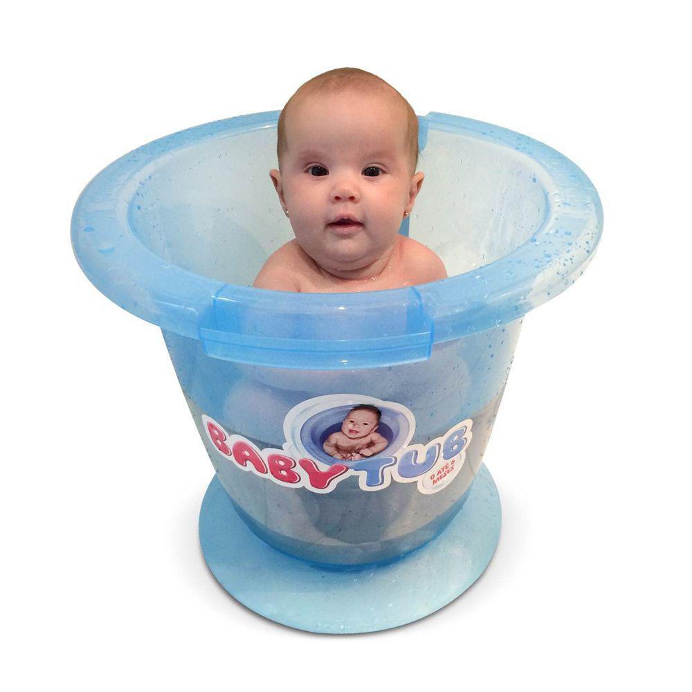 Banheira Babytub - Azul - Baby Tub - - Outros Bebê - Magazine Luiza