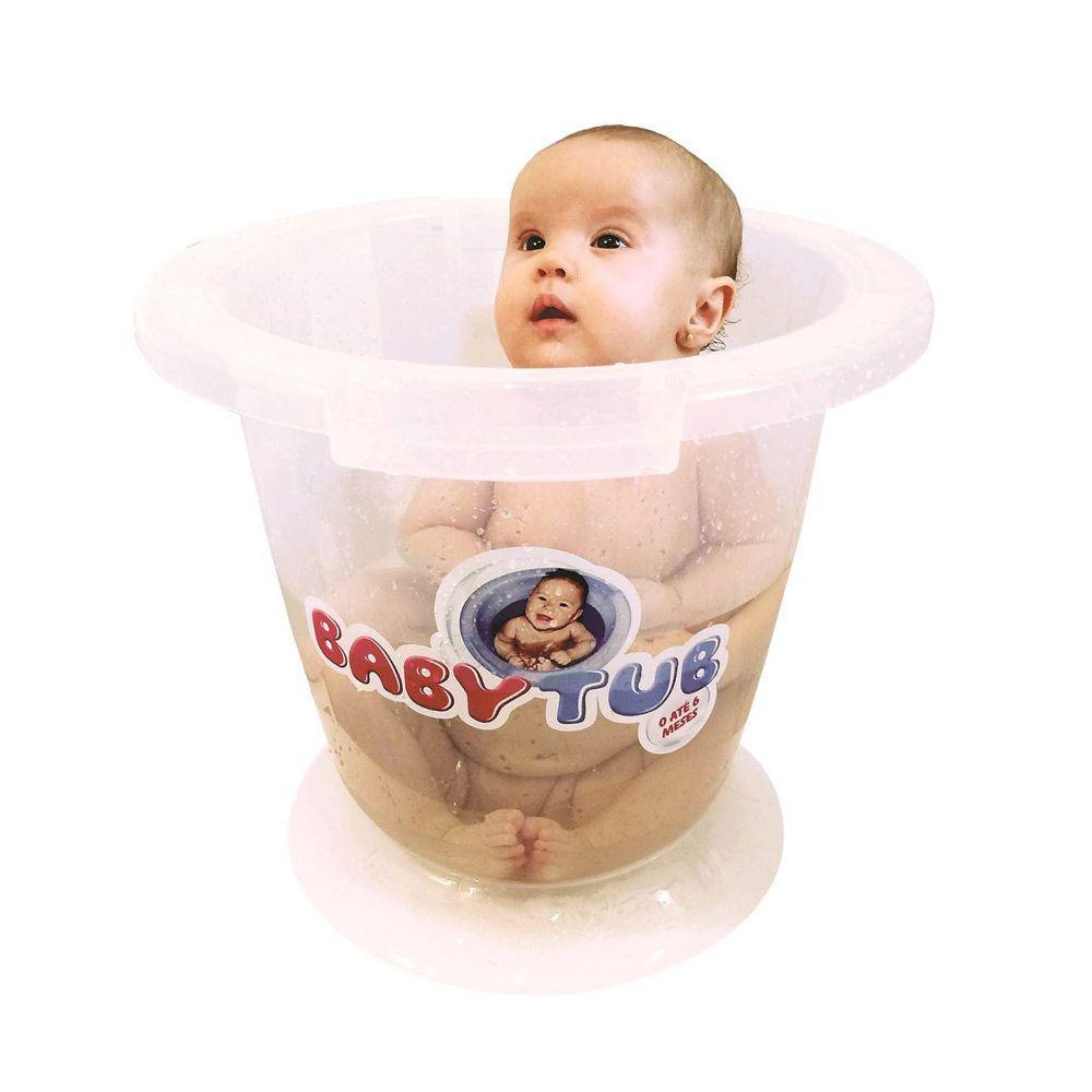 Banheira Babytub - Transparente - Baby Tub - - Outros Bebê ...