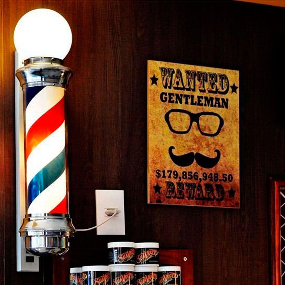 8ed612b1c98 Barber Pole De Parede - Versare anos dourados Produto não disponível