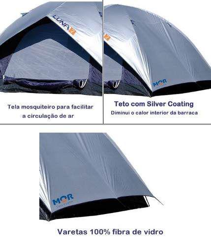 7e47ab693 Barraca Camping Iglu Luna 7 Pessoas - Mor - Barraca - Magazine Luiza