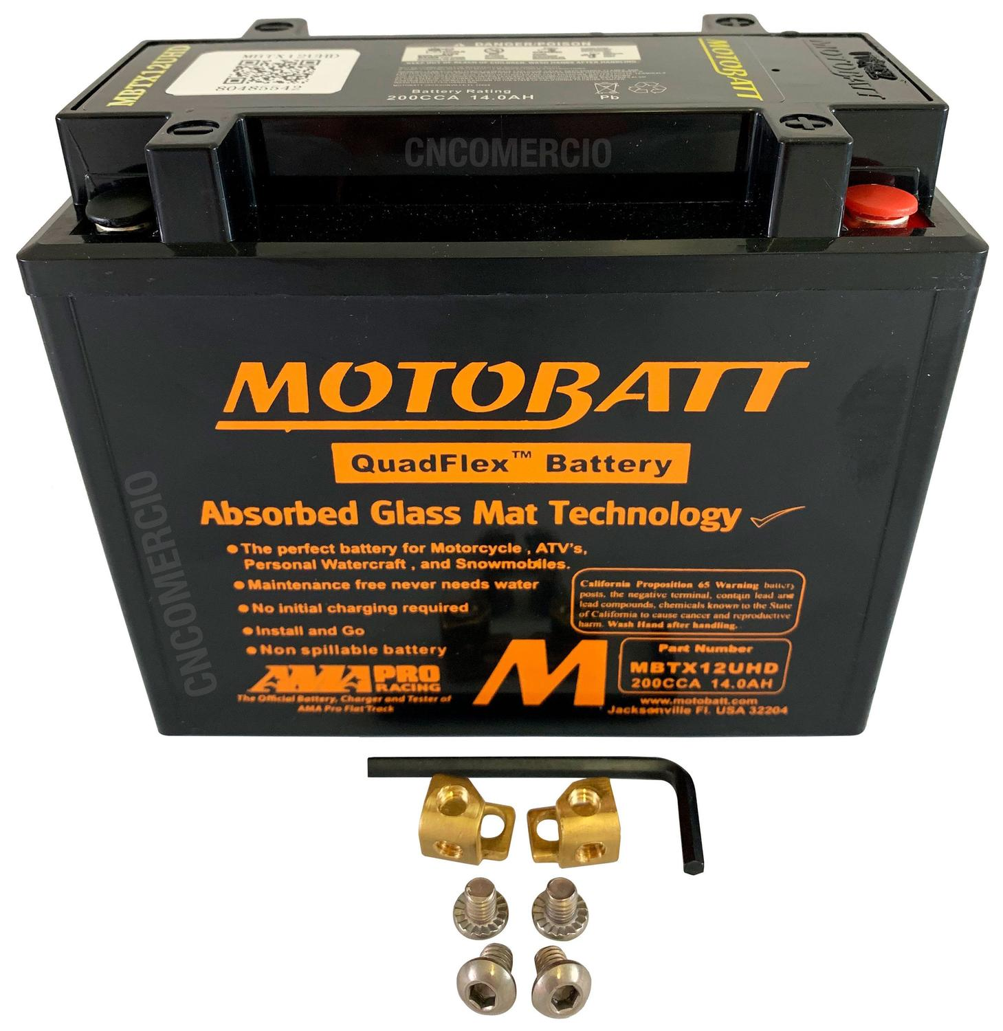 Buell 1125 R MBTX12U Motorcycle battery 2008-2010