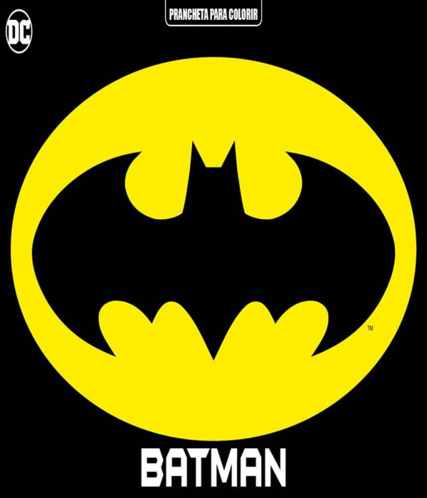 Batman Prancheta Para Colorir On Line Editora Revista Hq