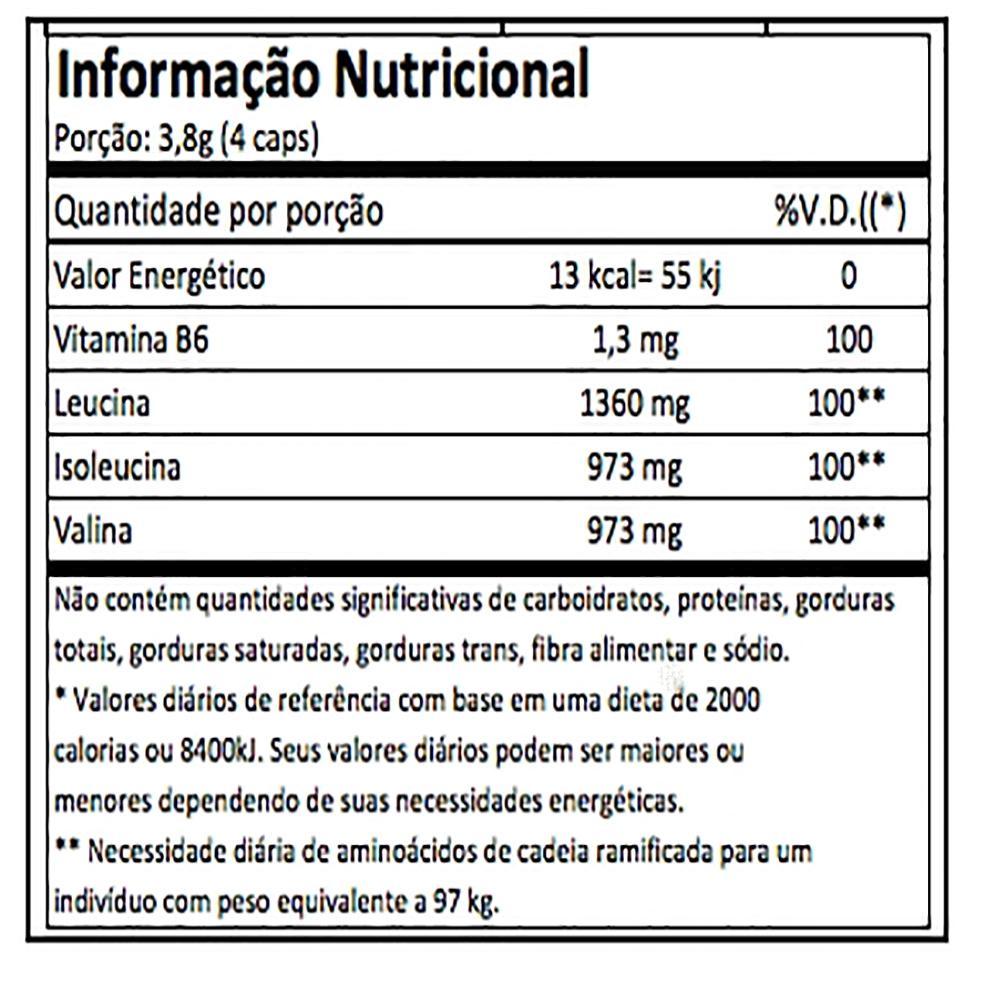 558c949f8 Bcaa Top 240Caps Integralmedica - Aminoacidos - Integralmédica R  125