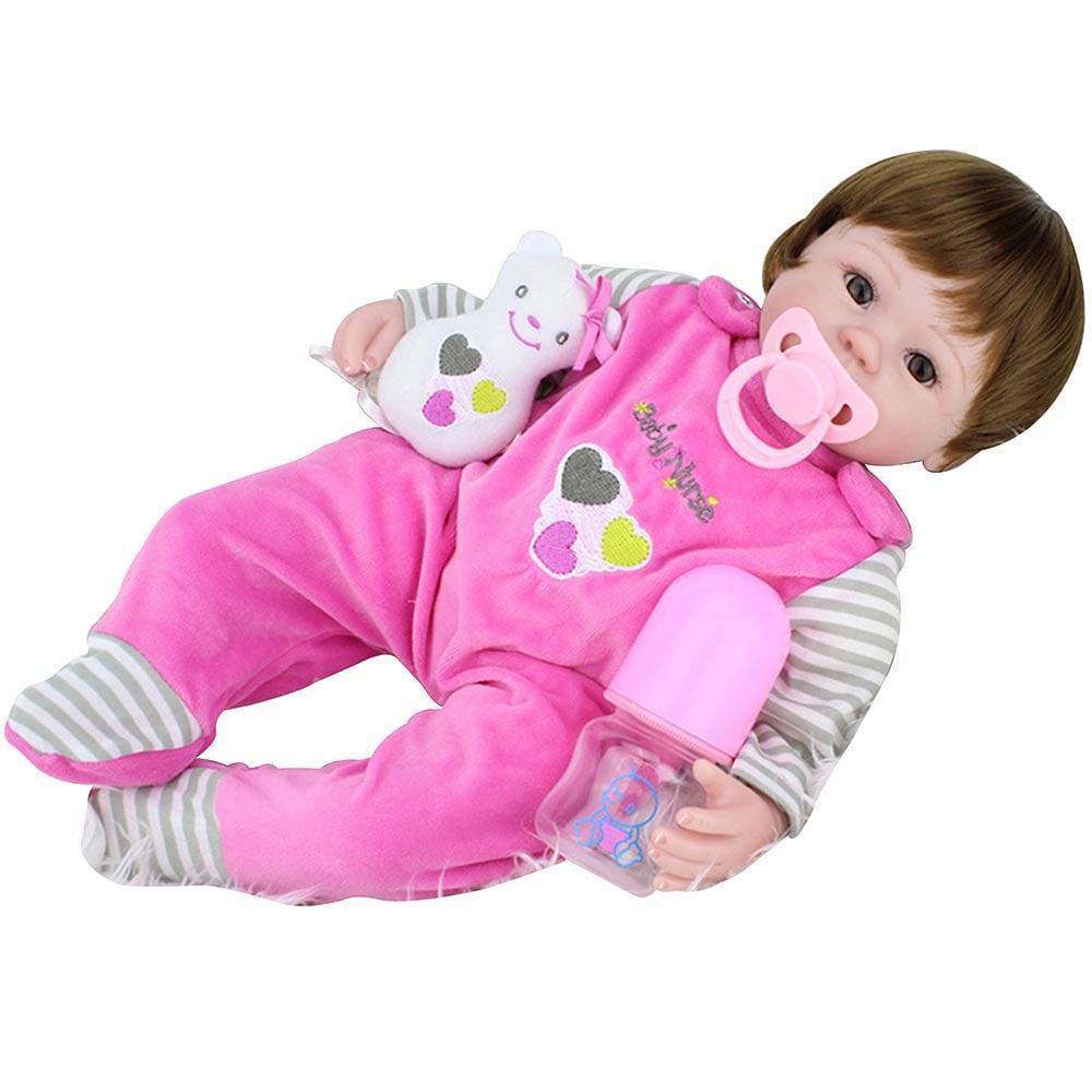 c2bfe31552 Bebe Reborn Laura Baby Nurse - Laura doll - Bonecas - Magazine Luiza