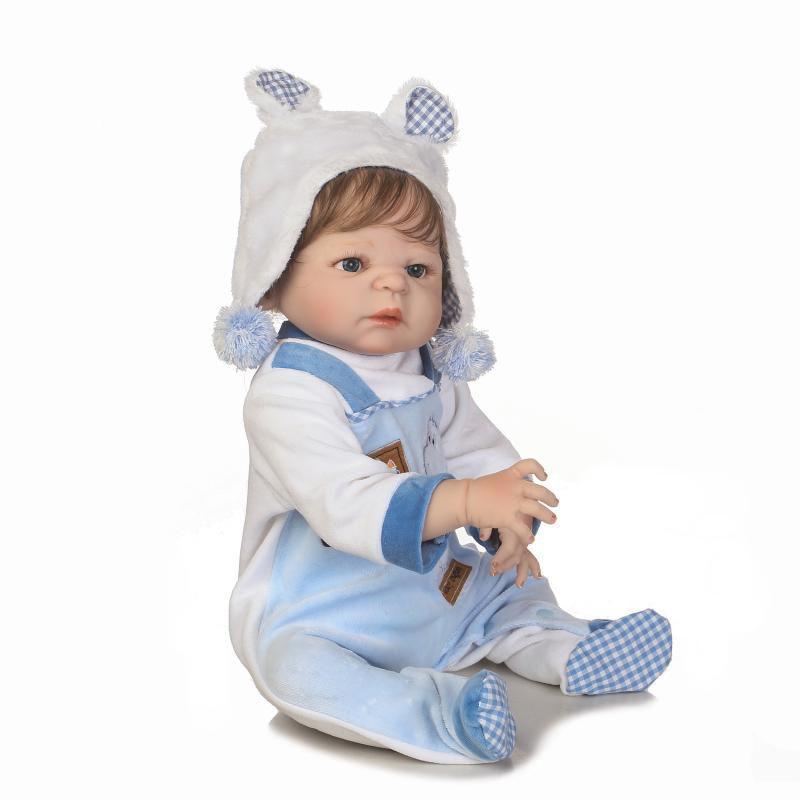3f97e6450 Bebê Reborn Menino Arthur Corpo Inteiro Silicone Pode Dar Banho - Store doll  R  890