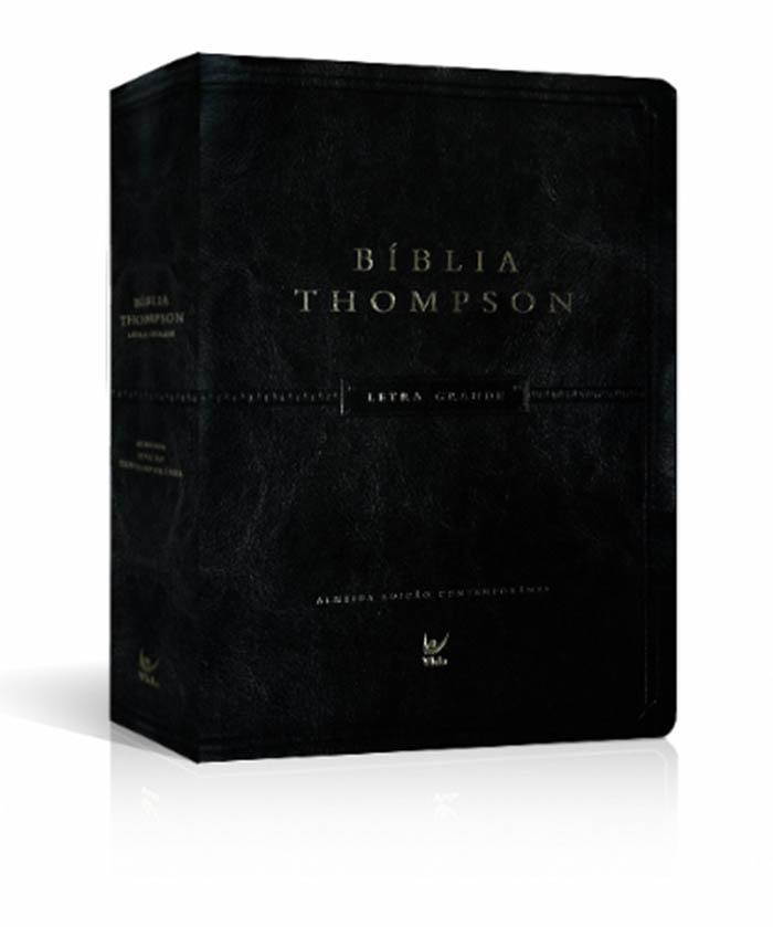 f71924d56 Bíblia Thompson - Letra Grande - Capa Luxo com Índice - Vida R  181