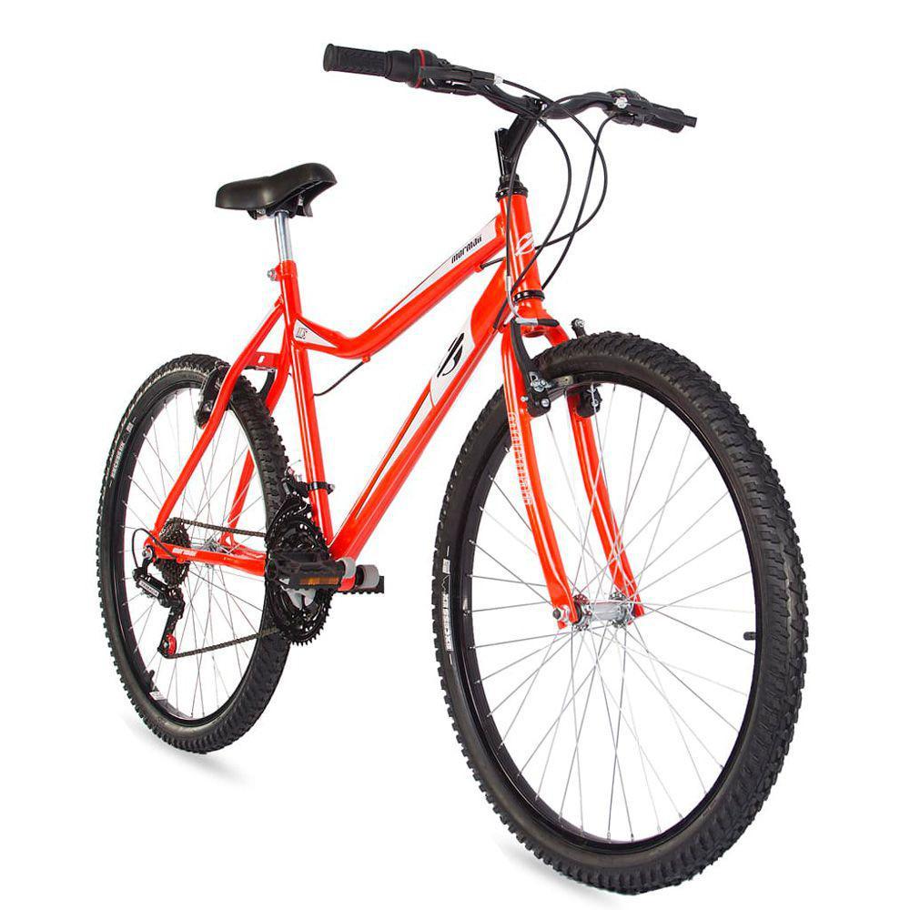 bc85dbe75d30e Bicicleta aro 26 mountain bike jaws mormaii laranja R  639,00 à vista.  Adicionar à sacola