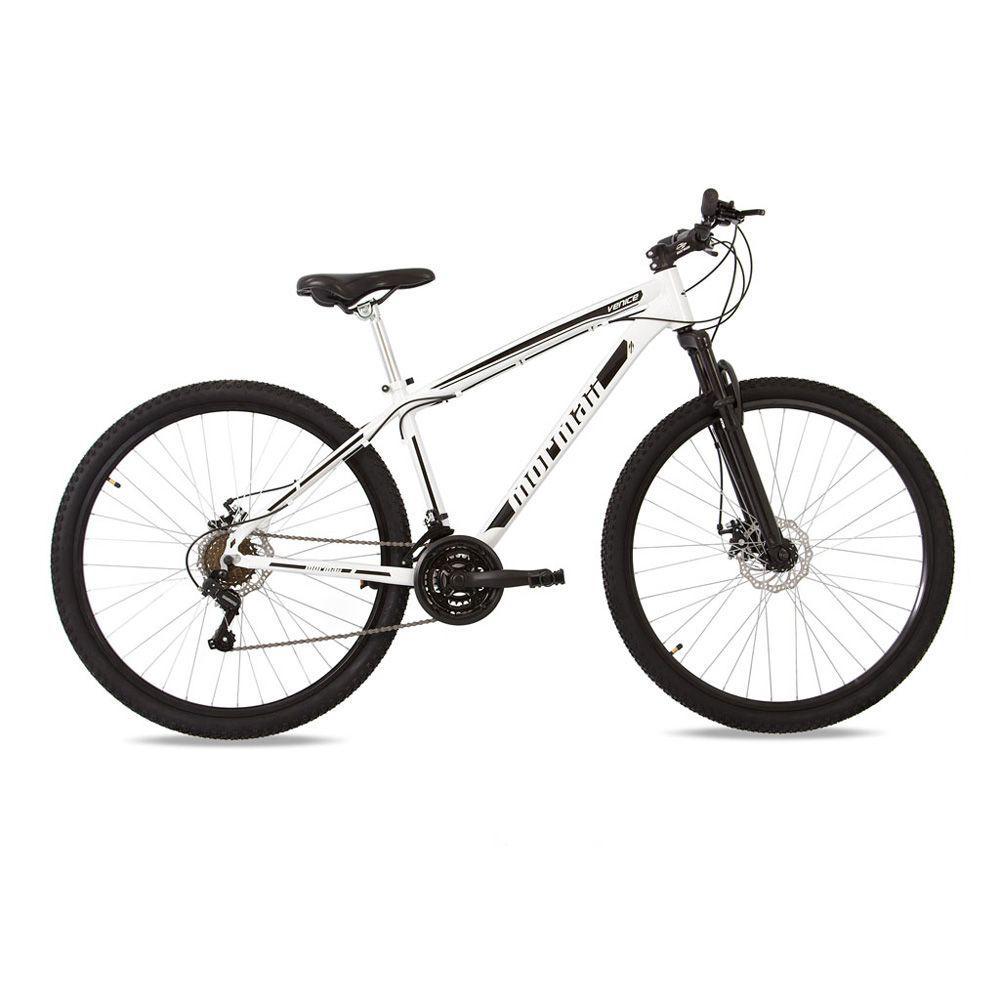 Bicicleta aro 29 mountain bike venice mormaii alumínio + shimano +  suspensão branco-preto Produto não disponível 4c4e778c54