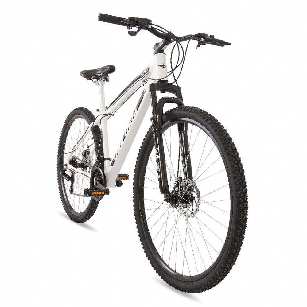 d77cf2dce Bicicleta aro 29 mountain bike venice mormaii alumínio + shimano + suspensão  branco-preto Produto não disponível