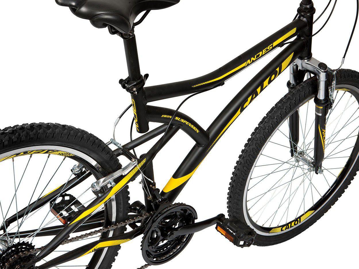 d90b9de1d6 Bicicleta Caloi Andes Aro 26 21 Marchas - Suspensão Dianteira Freio ...