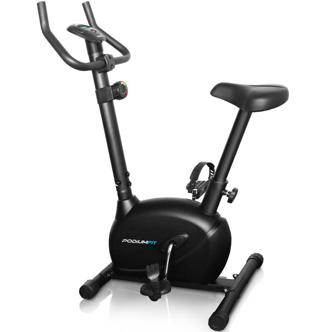 ea2ded054 Bicicleta Ergométrica Podiumfit V100 Magnética 8 Cargas - Bicicleta ...