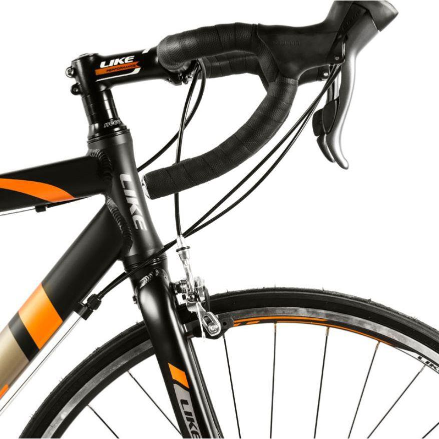 661e54498 Bicicleta Estrada R2 49 Aro 29 Tam P Preto e Laranja - Like R  2.999