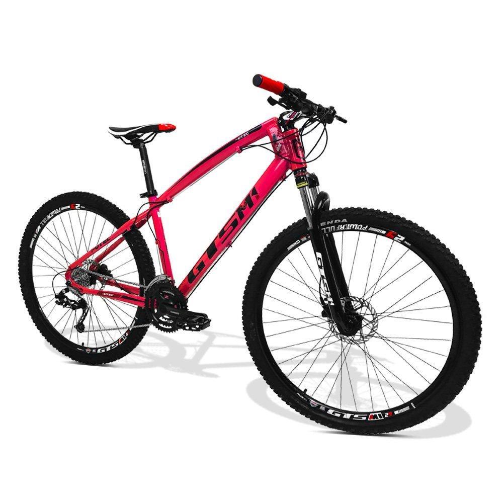 f668a84a6 Bicicleta Feminina GTS M1 I-Vtec aro 29 Freio a Disco Hidráulico Shimano 27  marchas - Rosa R  1.999