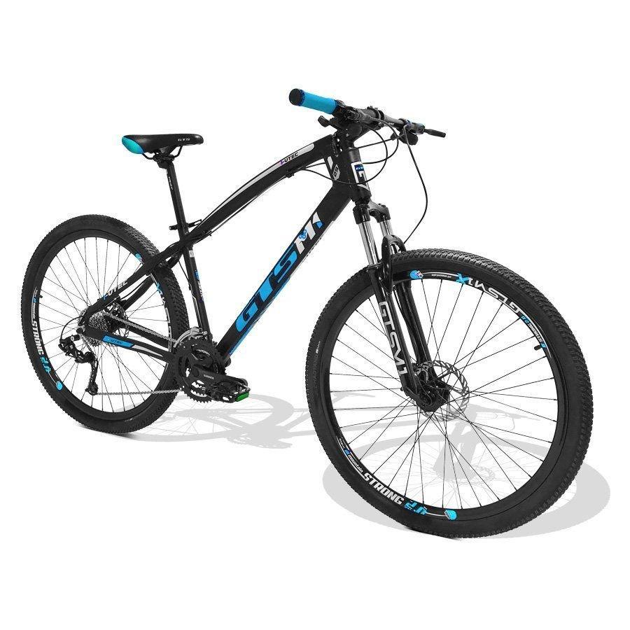 4a470e753 Bicicleta GTS M1 I-Vtec MX9 aro 29 Freio a Disco Hidráulico 27 marchas -  Preto   Azul R  1.899